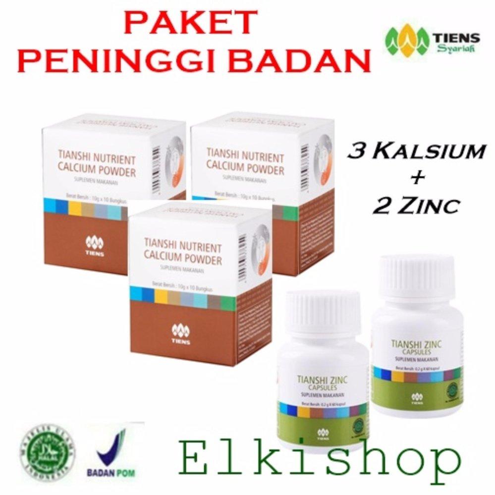 Shopping Comparison Suplemen Ekstra Peninggi Badan Zinc dan Nutrient Calsium HighPowder