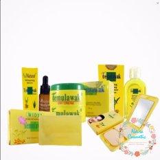 Temulawak Cream Original Holo Super - Paket Temulawak Komplit ( Cream, Sabun, Toner dan Serum. Dan Bedak  ) Original Paket komplit