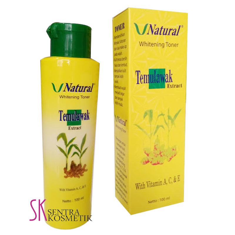 Flash Sale Temulawak Whitening Toner V Natural - 100 ml