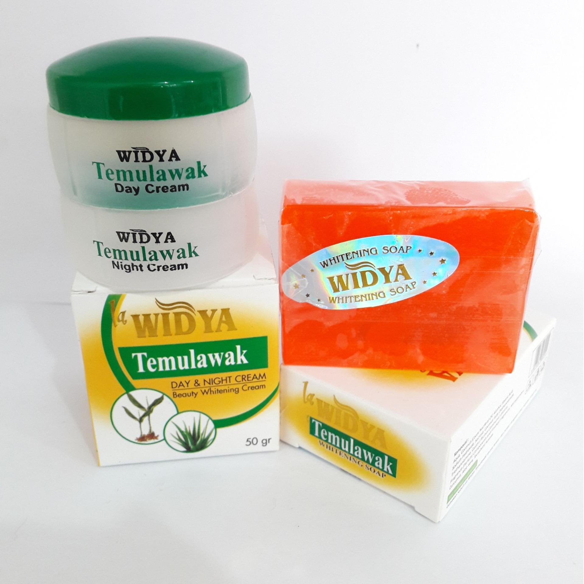 ... Temulawak Widya Paket Krim Siang- Malam & Sabun (3 item) ...