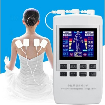 Harga TENS UNIT/Dual channel output TENS EMS pain relief/Electricalnervemuscle stimulator/Digital therapy massager/Physiotherapy -intl Murah