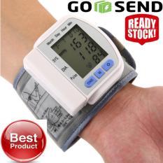 Tensi Meter Tangan Alat Test Pengukur Tekanan Darah TensiMeter Digital Dan Pengukur Detak Jantung