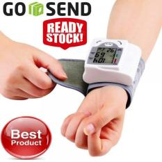Tensi Meter TensiMeter Digital Alat Pengukur Tekanan Darah Tangan Alat Ukur Detak Jantung