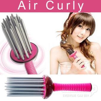 Harga THT Air Curly Comb – Sisir Keriting Rambut – Pink Murah