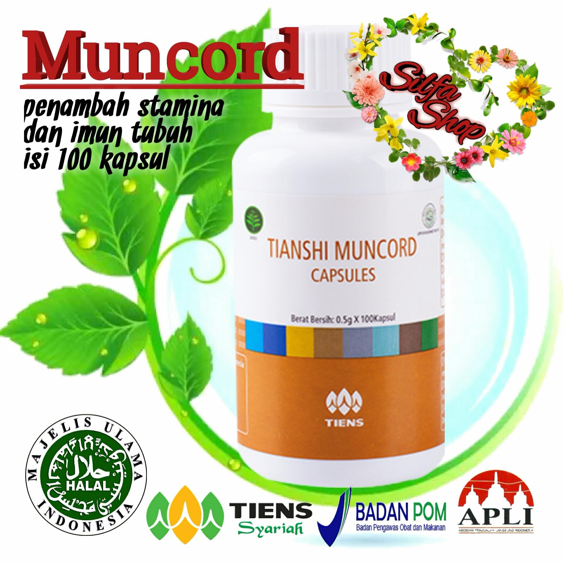 Tiens Muncord Meningkatkan imun tubuh serta penjaga kesehatan jantung 100% herbal alami by silfa shop