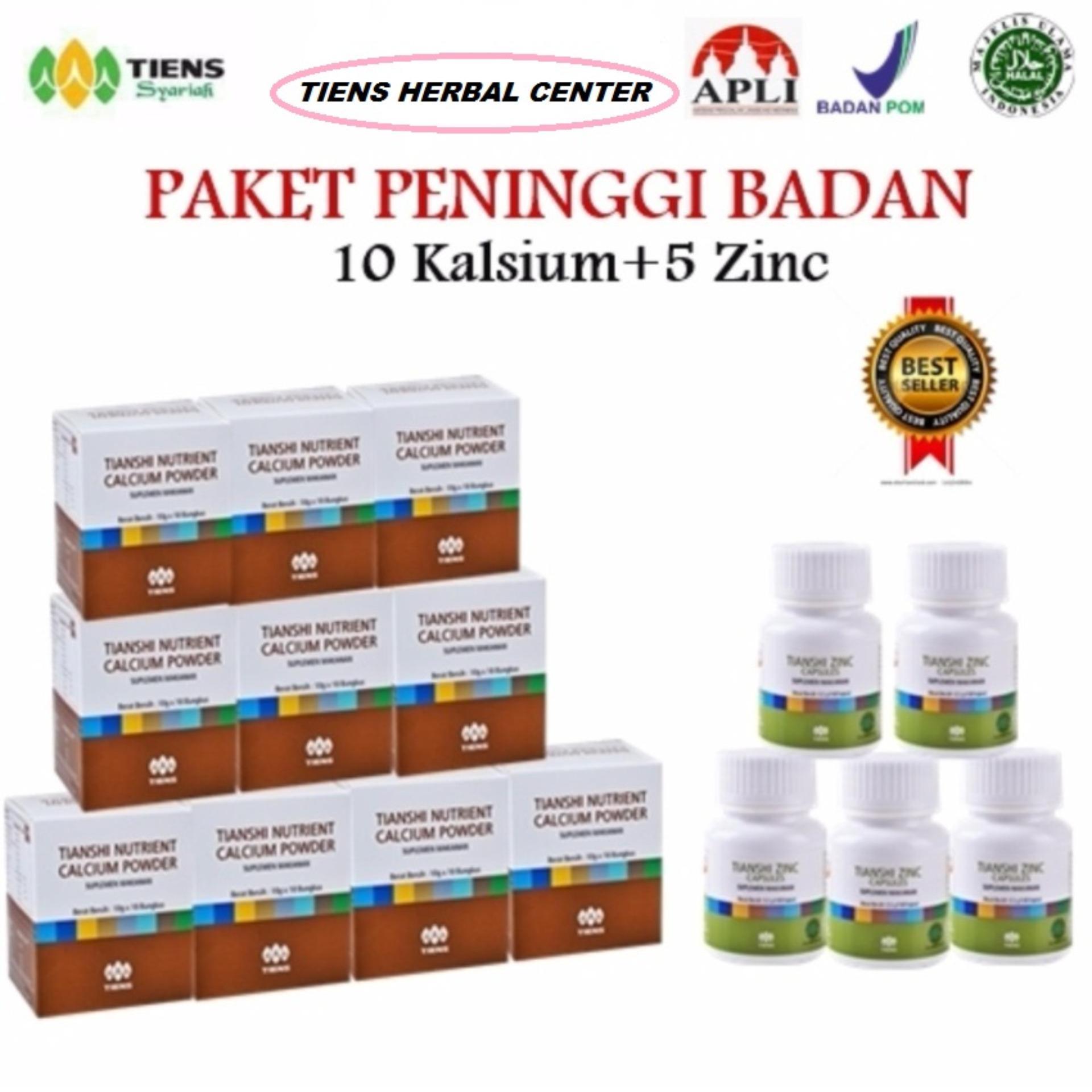 Flash Sale Tiens Peninggi Badan Nutrient High Calsium Powder 10 & zink 5