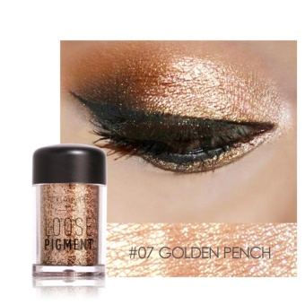 TMISHION Fashionable Glitter Eyeshadow Beauty Eyes Pigment Powder Lips Loose Makeup Tool (#7) - intl