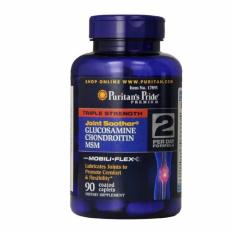 Triple Strength Glucosamine Chondroitin MSM 60 Kaplet -- Puritan's