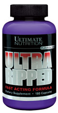 Ultimate Nutrition Ultra Ripped Fast Acting Formula - 180 Capsules