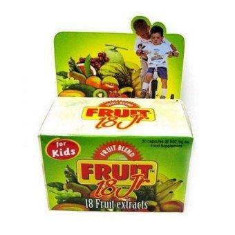 Vege Blend Fruit 18 Jr For Kids - 30 Kapsul