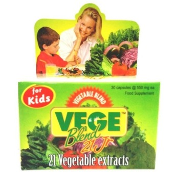 Vege Blend Vegetable 21 Jr For Kids - 30 Kapsul