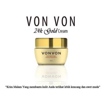 harga Vonvon Gold Night Cream Anti Penuaan Dini - 50ml Asli Lejel Made in Korea | Magic Plus MagicPlus Lazada.co.id