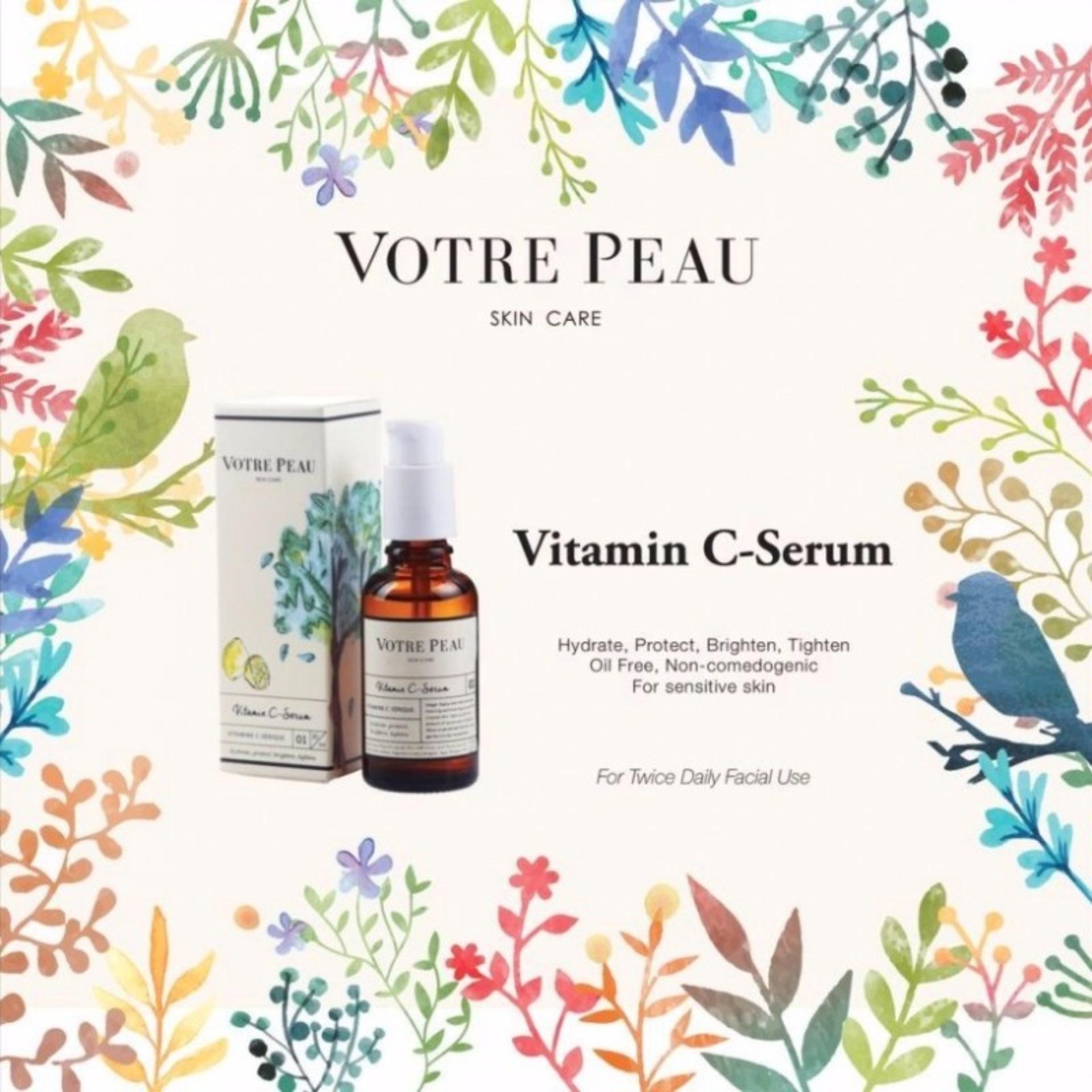 VOTRE PEAU Vitamin C Serum - Kecantikkan, perawatan wajah, serum .