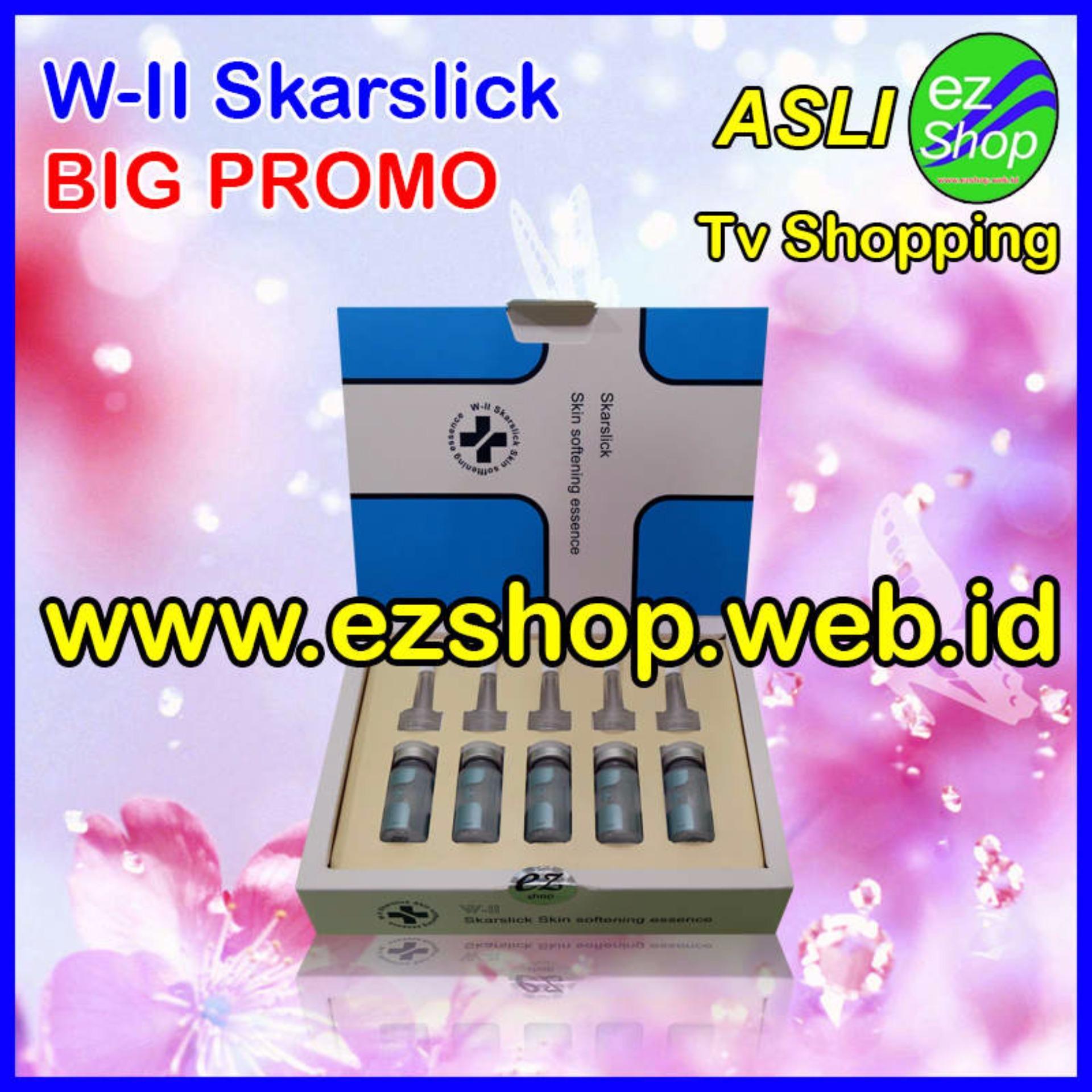 W-II Skarslick Skin Softening Essence - Serum / Obat PenghilangBekas Luka Alami (Skar Slick) - Jaminan Asli EzShop - Ez Shop TvHome Shopping Indonesia