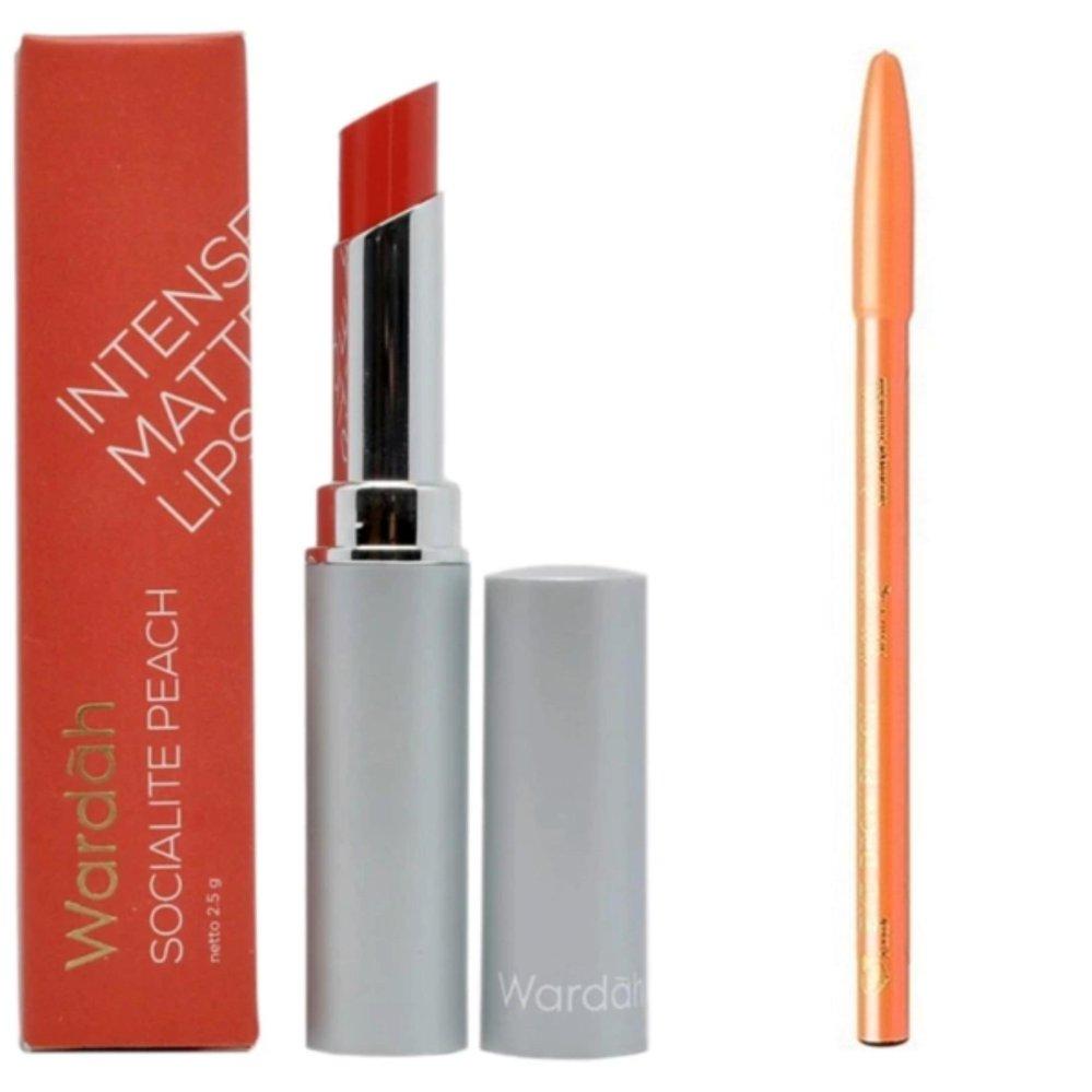 Wardah Intense Matte Lipstick 07 Cek Harga Terkini Dan Terlengkap Passionate Pink 25gr 01 Socialite Free Davis Pensilalis Hitam