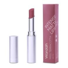 Wardah Intense Matte Lipstick 10 Miss Terracotta