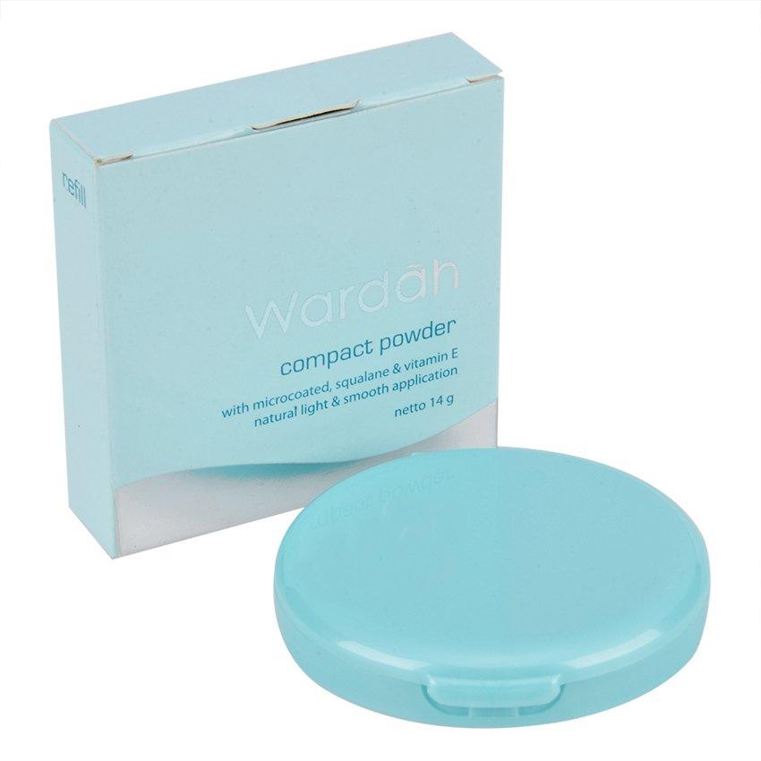 Wardah Luminous Compact Powder Refill - 03 Ivory .