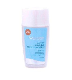 Wardah Luminous Liquid Foundation - Natural   Lazada Indonesia