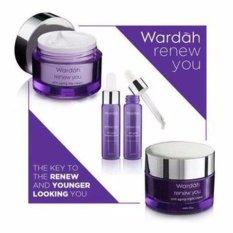 Wardah Renew You Anti Aging Series Paket Serum