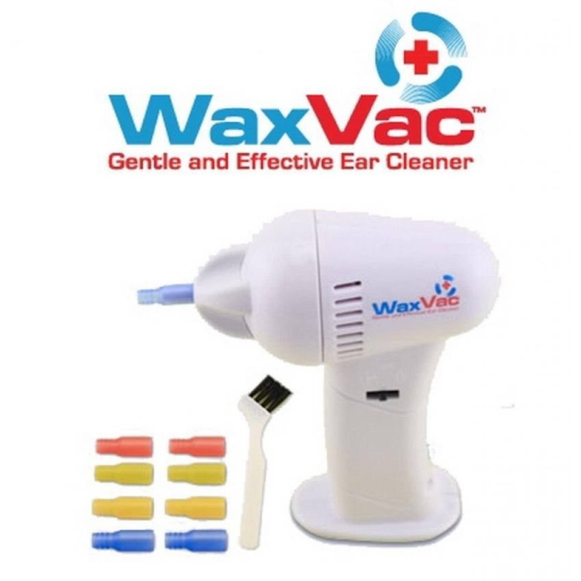 Wax Vac Vacuum Ear Cleaner Alat Pembersih Kuping/ Telinga - Putih .