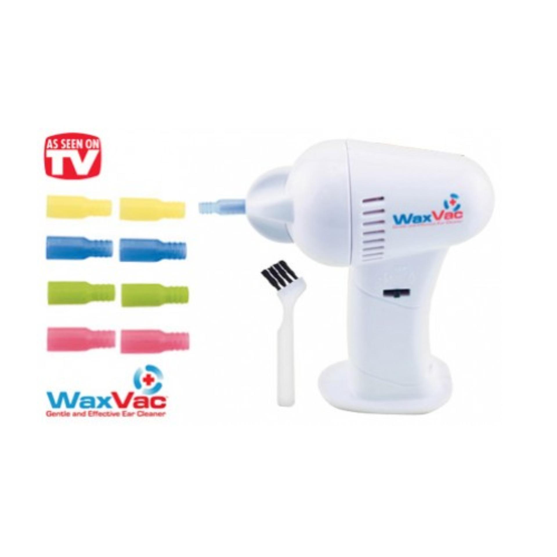 Waxvax Ears Cleaner Vacuum Pembersih Kotoran Telinga Daftar Harga Wax Vac Electric Ear Removal Alat Whit Source As Seen On Tv Waxvac