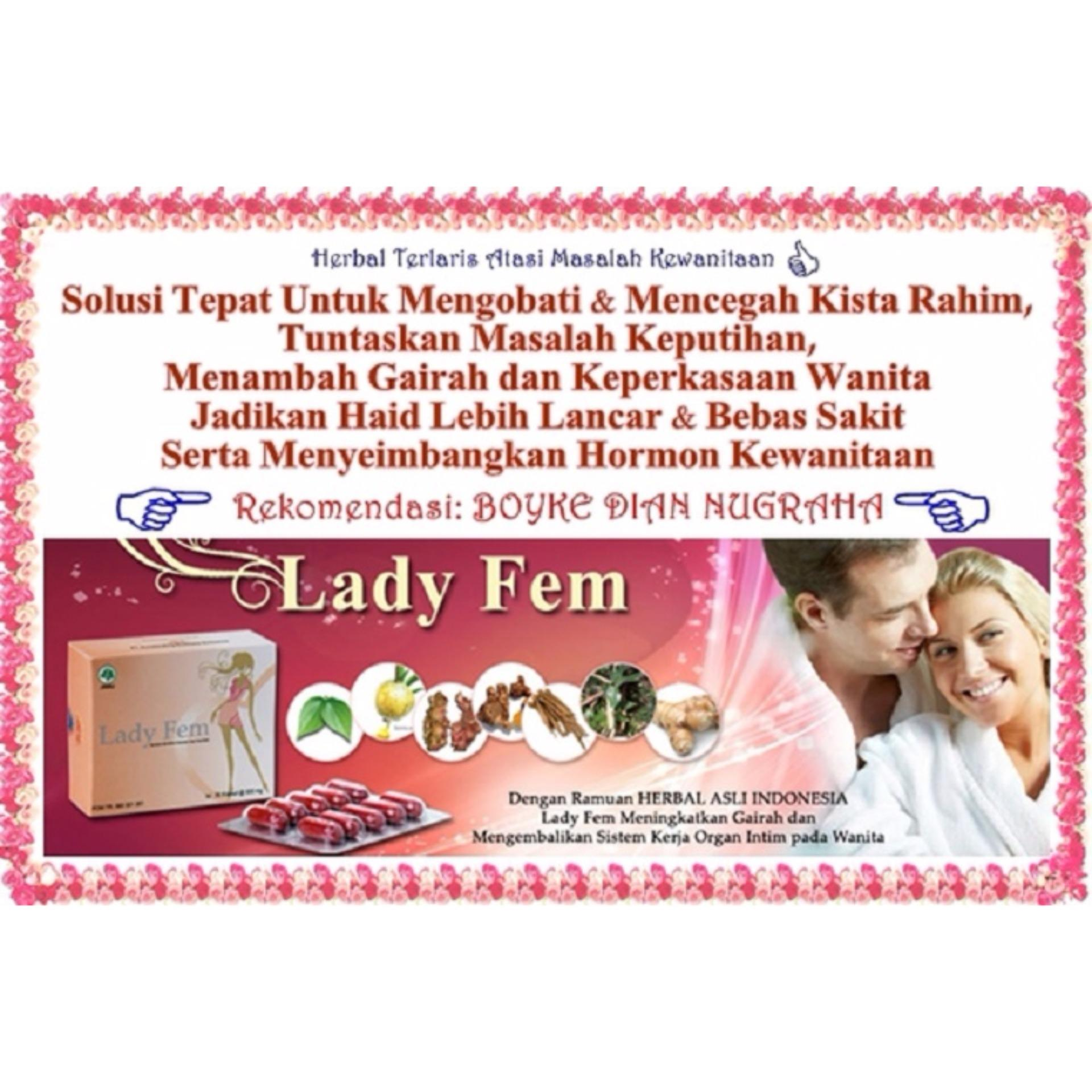 Harga Baru Zie Lady Fem Membantu Menormakan Hormon Original