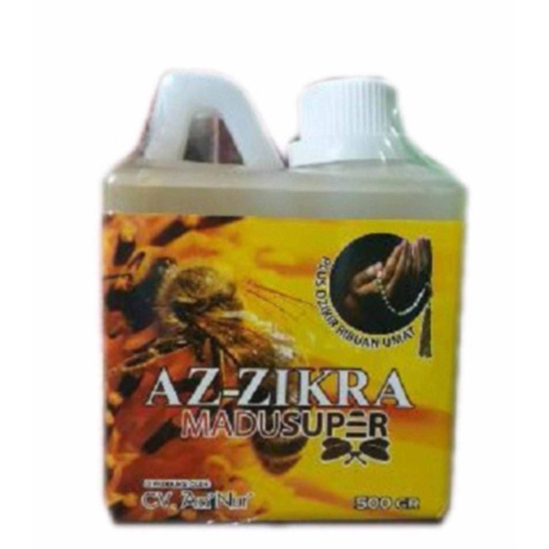 ... ZIE Madu Super Az Zikra 500 gr Doa Ustadz Arifin Ilham Asli Jaga Kesehatan ...