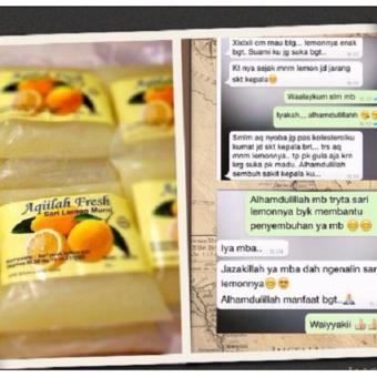 ZIEAqillah Fresh Sari Lemon Asli Penangkal Penyakit Kanker,Mencegah Anemia - 5