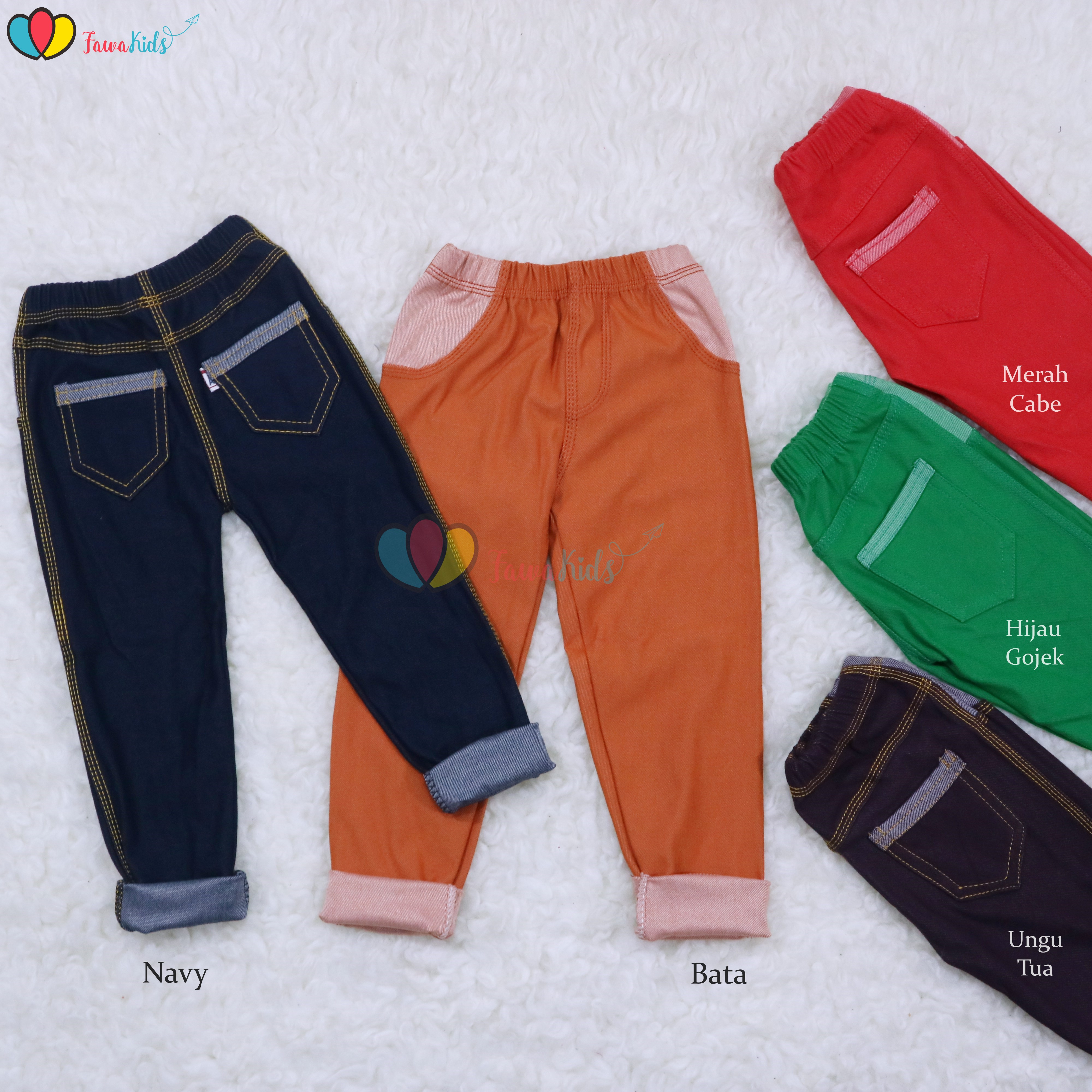 Jeans Legging Kantong Anak Uk Bayi Remaja Laki Perempuan Celana Panjang Anak Polos Denim Legging Kios Balita Fawa Lazada Indonesia