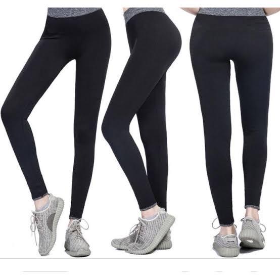 Celana Legging Bahan Spandex Jersey Allsize Standar Lazada Indonesia