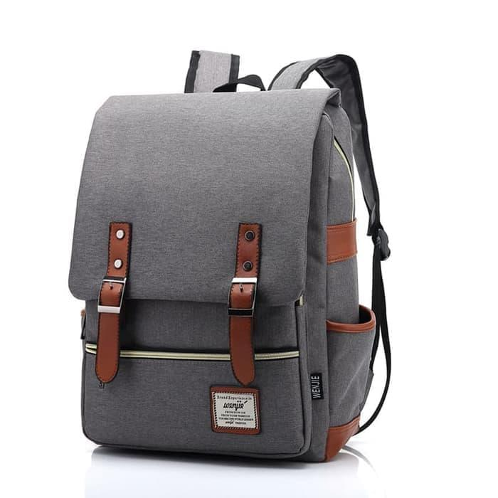 Terlaris Tas Slempang / Selempang Anti Air Kanvas SPEN USB Sling Bag Canvas Vr2 - Hitam | Lazada Indonesia