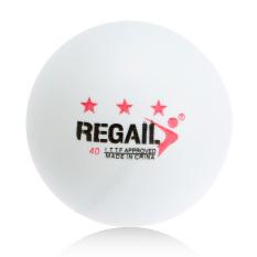 100 Buah 3-bintang 40 mm Tenis Meja pelatihan lanjutan bola ping pong putih
