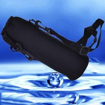 Bandingkan Toko 1000ML Water Bottle Carrier Insulated Cover Holder Strap Pouch Durable Outdoor - intl Online murah