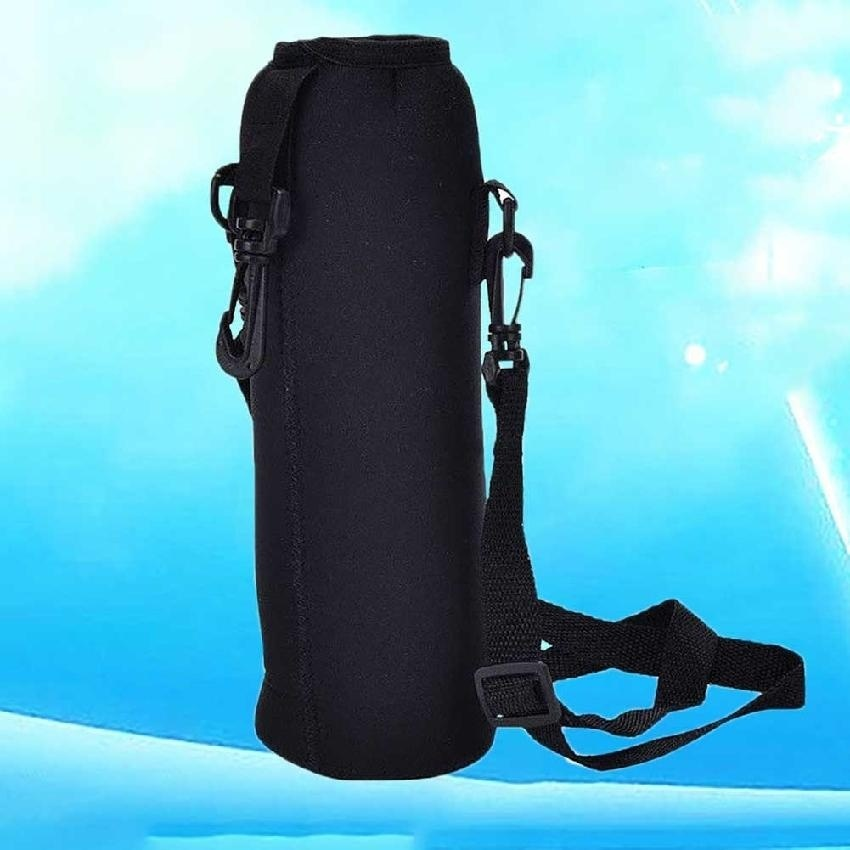 ... 1000ML Water Bottle Carrier Insulated Cover Holder Strap Pouch Durable Outdoor - intl ...