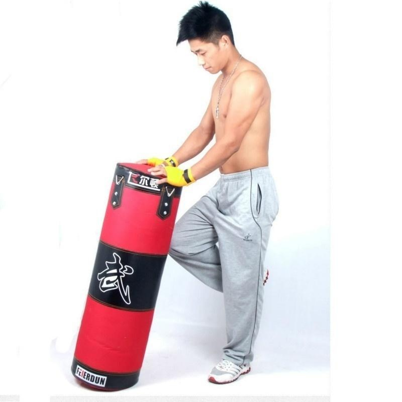 120 CM Punching Bag for Boxing Indoor Sports EmptySandbag(accessories as gift) - intl