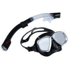 2-In-1 Renang Menyelam Pelindung Mata Masker Snorkeling Set Tabung Pernapasan