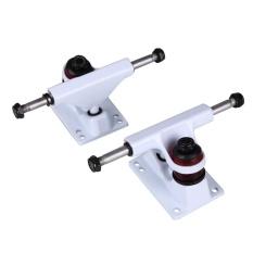2 Pcs Aluminium Magnesium Alloy Skate Board Skateboard Jembatan Truk Profesional-Intl