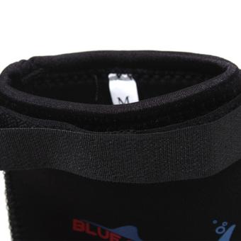 Harga 3 mm neoprena anti slip air kaus kaki olahraga renang untuk menyelam scuba berselancar M