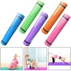 4mm EVA Tahan Tahan Lama Yoga Mat Non-slip Latihan Fitness Pad Mat-Intl