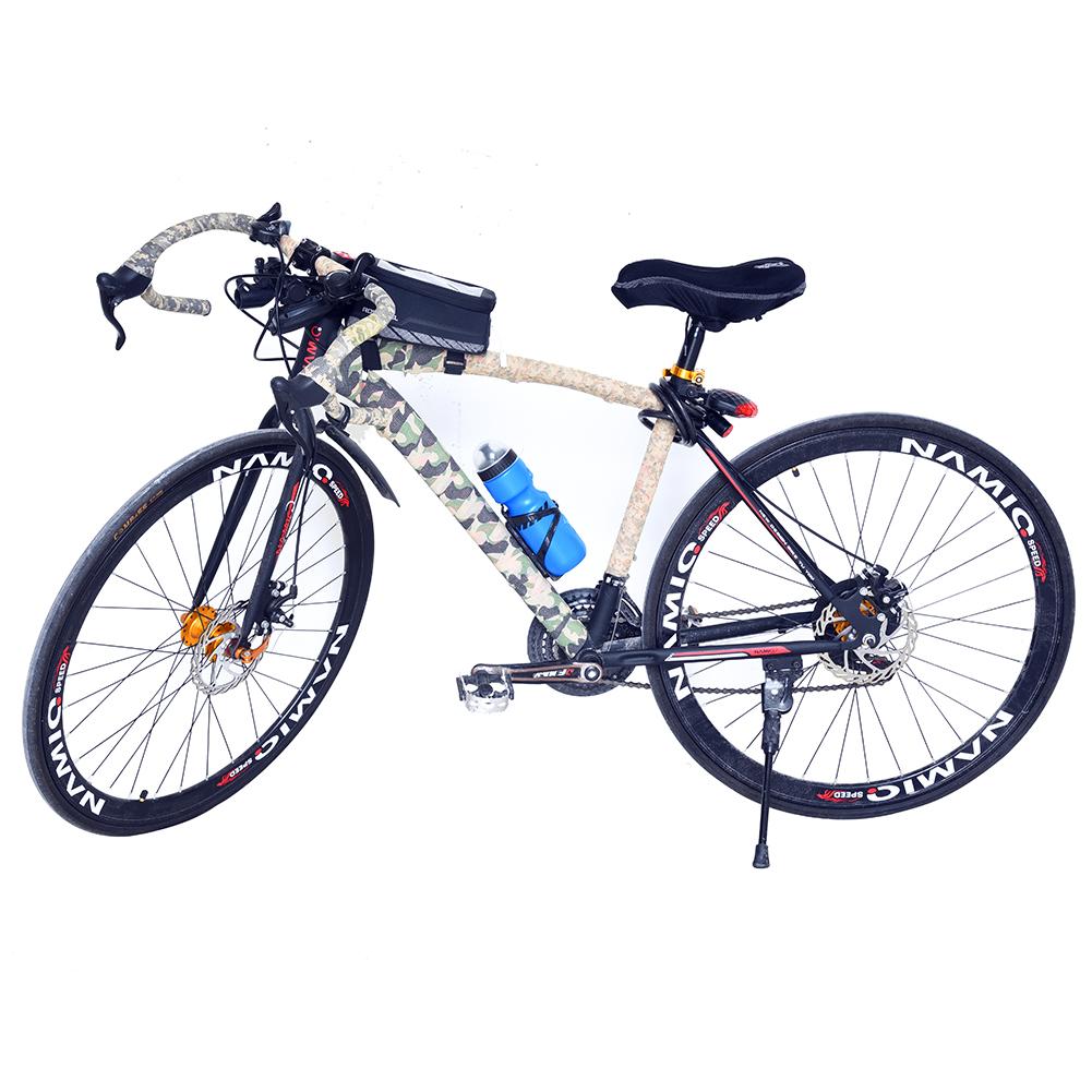 650 ml biru bersepeda Infuser cangkir kesehatan perlengkapan minumbotol air portabel untuk sepeda olahraga luar ruangan