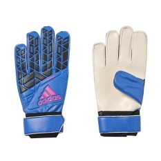 Adidas Ace Training Goalkeeper Gloves - Blue - Core Black - White - Shock Pink