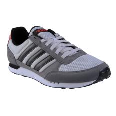 Adidas Adineo Neo City Racer Sneakers Olahraga Pria - Gretwo/Core Black/Corred