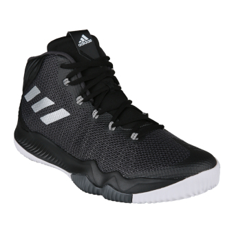 Adidas Crazy Hustle Men's Basketball Shoes - Core Black-Silver Met-Dgh Solid Grey