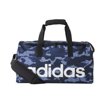 Adidas Linear Performance Graphic Small Team Bag - Tactile Blue S17 - Collegiate Navy - White