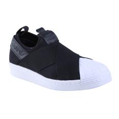 Adidas Originals Superstar Slip On Sneakers Olahraga Pria - Core Black/Core Black/Core Black