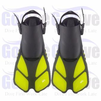 ... Harga Alat Snorkeling Diving Godive Fin Open Heel FS 18 S M Terbaru klik gambar