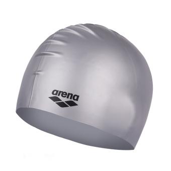 Arena dan nyaman silikon untuk pria dan wanita dengan rambut panjang topi renang topi renang topi renang topi renang