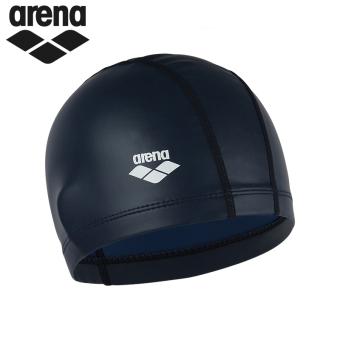 BELI Arena silikon warna solid untuk pria dan wanita dengan rambut panjang topi renang renang topi topi MURAH