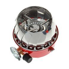 ASLB Kompor Gas Kemping Portable Mini Tahan Angin - Merah