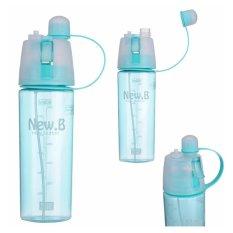 Babamu Botol Olahraga Spray - New Arrival 600ml Bottle NEW.B Sport Water Bottles / Biru
